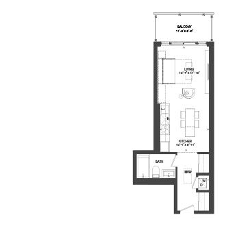 Bowery Floorplan - S-3