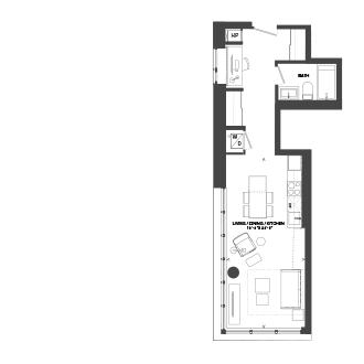 Bowery Floorplan - S-6