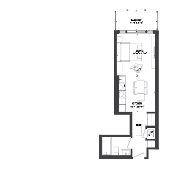 Bowery Floorplan - S-2