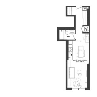 Bowery Floorplan - S-5