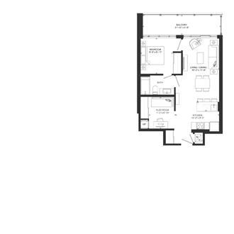 Bowery Floorplan - F-1