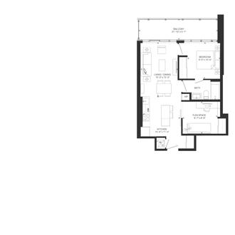 Bowery Floorplan - F-2