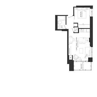 Bowery Floorplan - O-4