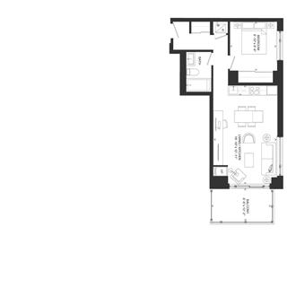 Bowery Floorplan - O-6