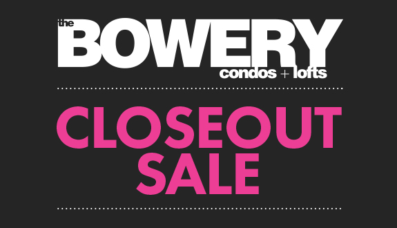 Link to Bowery Closeout Sale
